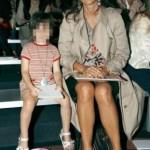 Daria Bignardi con la figlia